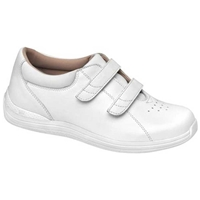 Drew Shoes - Lotus - White Full Grain Leather - Casual, Dress