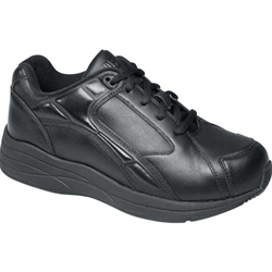 Drew Shoes - Motion - Black Leather - Athletic