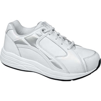 Drew Shoes - Motion - White Leather - Athletic