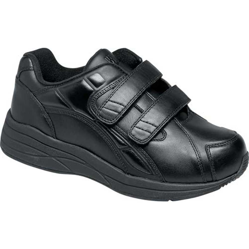 Drew Shoes - Motion V - Black Leather - Athletic