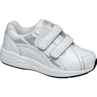 Drew Shoes - Motion V - White Leather - Athletic