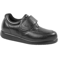 Drew Shoes - Navigator II - Black Leather - Casual Shoe