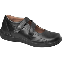 Drew Shoes - Orchid - Black Full Grain Leather - Casual, Dress