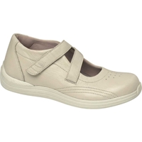 Drew Shoes - Orchid - Bone Pebble Leather - Casual, Dress