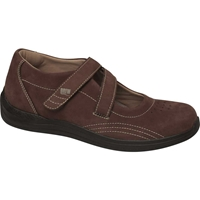 Drew Shoes - Orchid - Brown Nubuck Leather - Casual, Dress