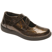 Drew Shoes - Orchid - Copper Marble Leather - Casual, Dress