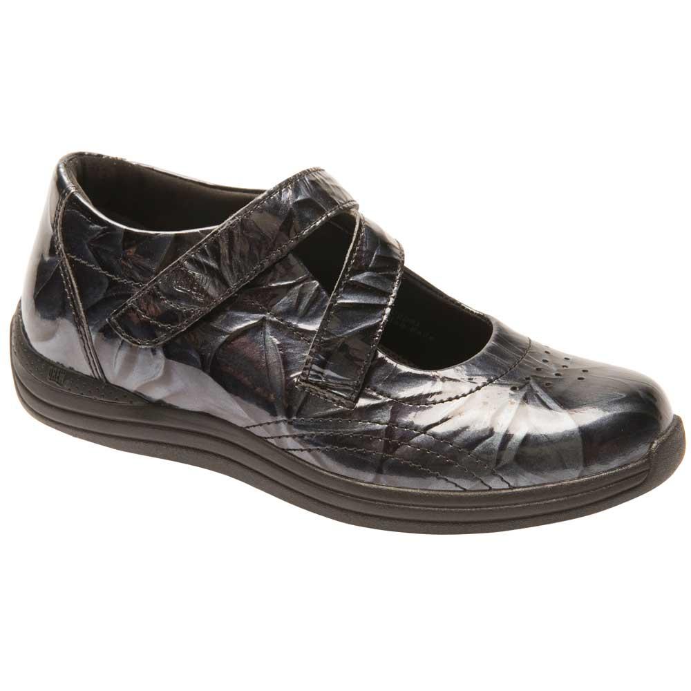 Drew Women/'s Orchid Comfort Shoes Black Calf