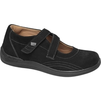 Drew Shoes - Orchid - Black Nubuck Leather - Casual, Dress
