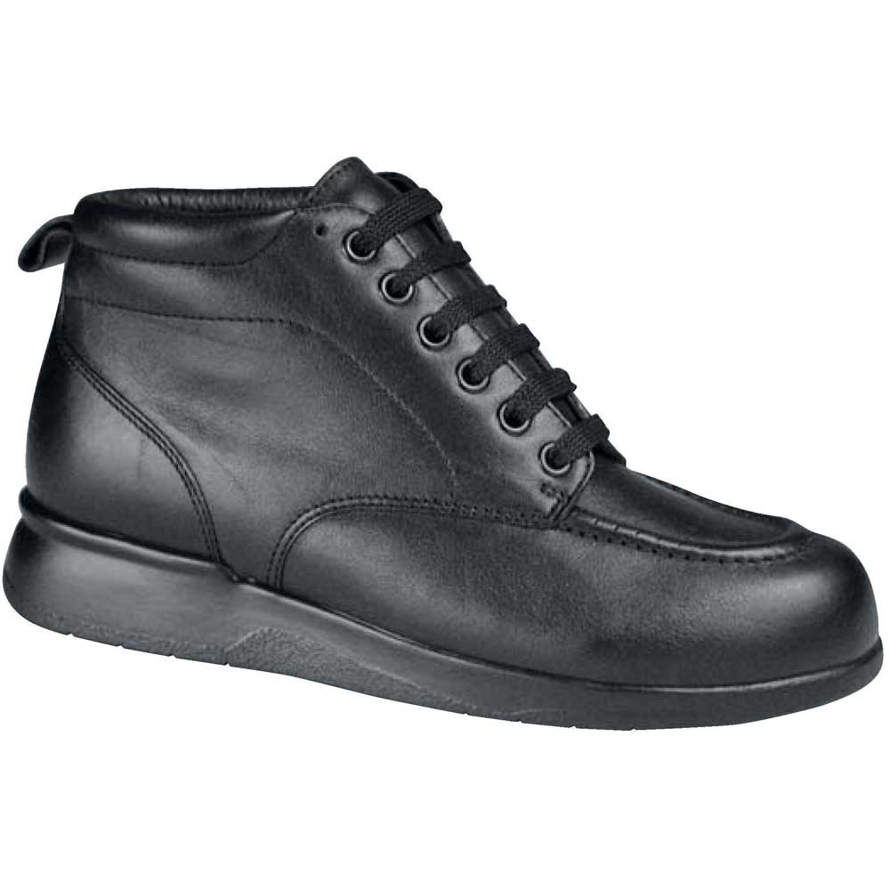 Drew Shoes - Phoenix Plus - Black Leather - Boot