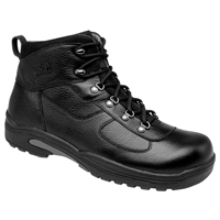 Drew Shoes - Rockford - Black Leather - Boot Shoe