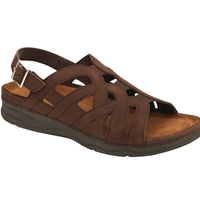 Drew Shoes - Sandy - Brown Nubuck Leather - Sandal