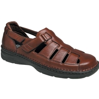 Drew Shoes - Springfield - Brown Leather - Sandal