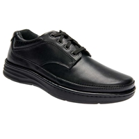 Drew Shoes - Toledo - Black Leather - Casual, Dress