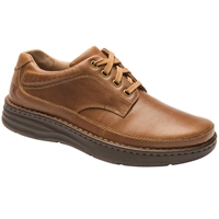 Drew Shoes - Toledo - Brown Leather - Casual, Dress