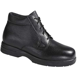 Drew Shoes - Tucson - Black Leather - Boot Shoe