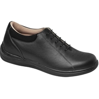 Drew Shoes - Tulip - Black Full Grain Leather - Casual, Dress