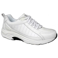 Drew Shoes - Voyager - White Leather - Athletic Shoe