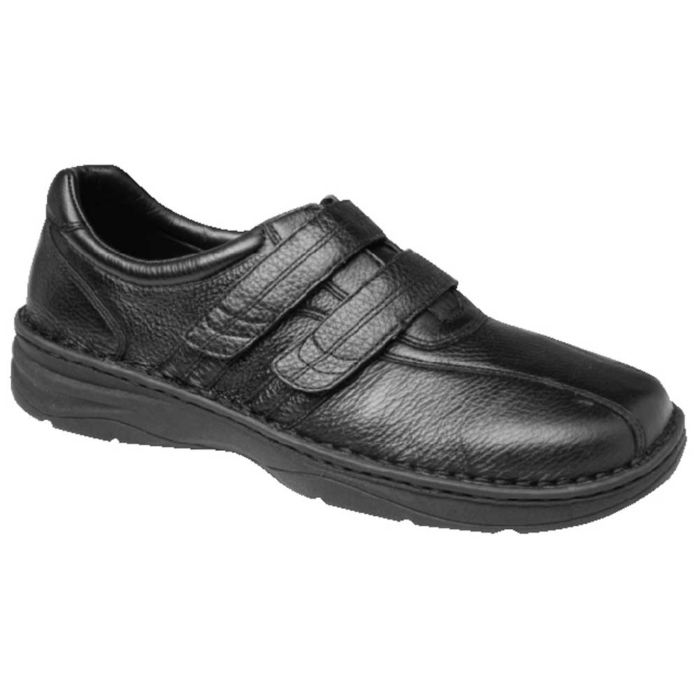 Drew Shoes - Whitehall - Black Leather - Casual Shoe