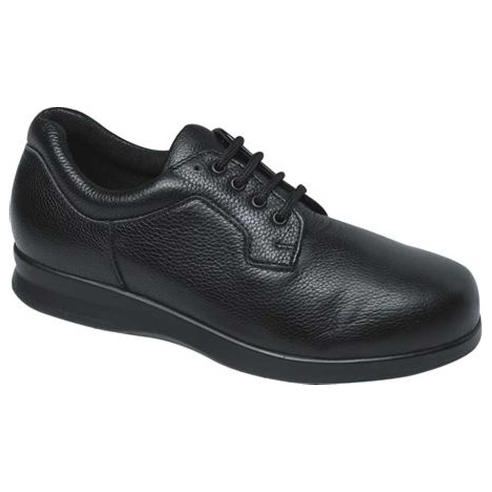 Drew Shoes - Zip II - Black Leather - Casual, Dress