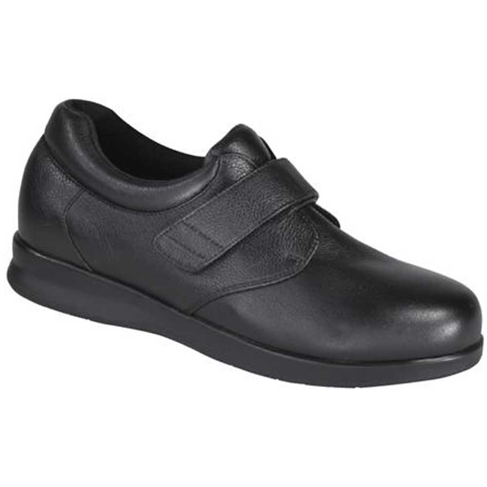 Drew Shoes - Zip II V - Black Leather - Casual, Dress