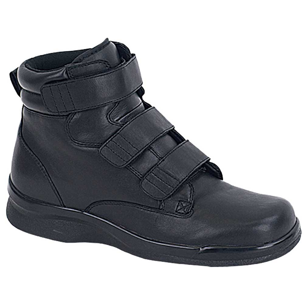 Aetrex Ambulator Shoes B4200M Biomechanical Boot - Men's Comfort Therapeutic Diabetic Shoe - Boot - Medium (C) - Extra Wide (4E) - Extra Depth for Orthotics