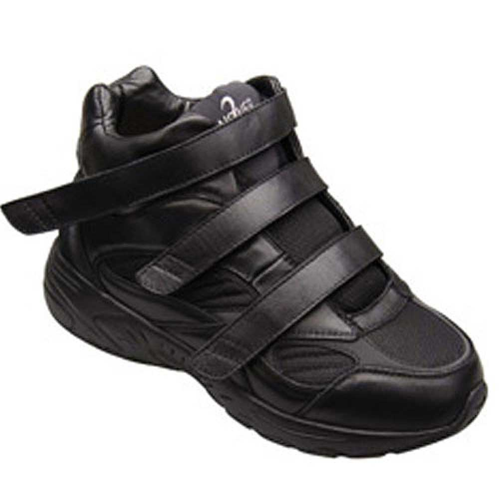 Apis Answer2 551-1 - Athletic Shoes - Men's Comfort Therapeutic Shoe - Medium (D) - Extra Wide (4E) - Extra Depth for Orthotics