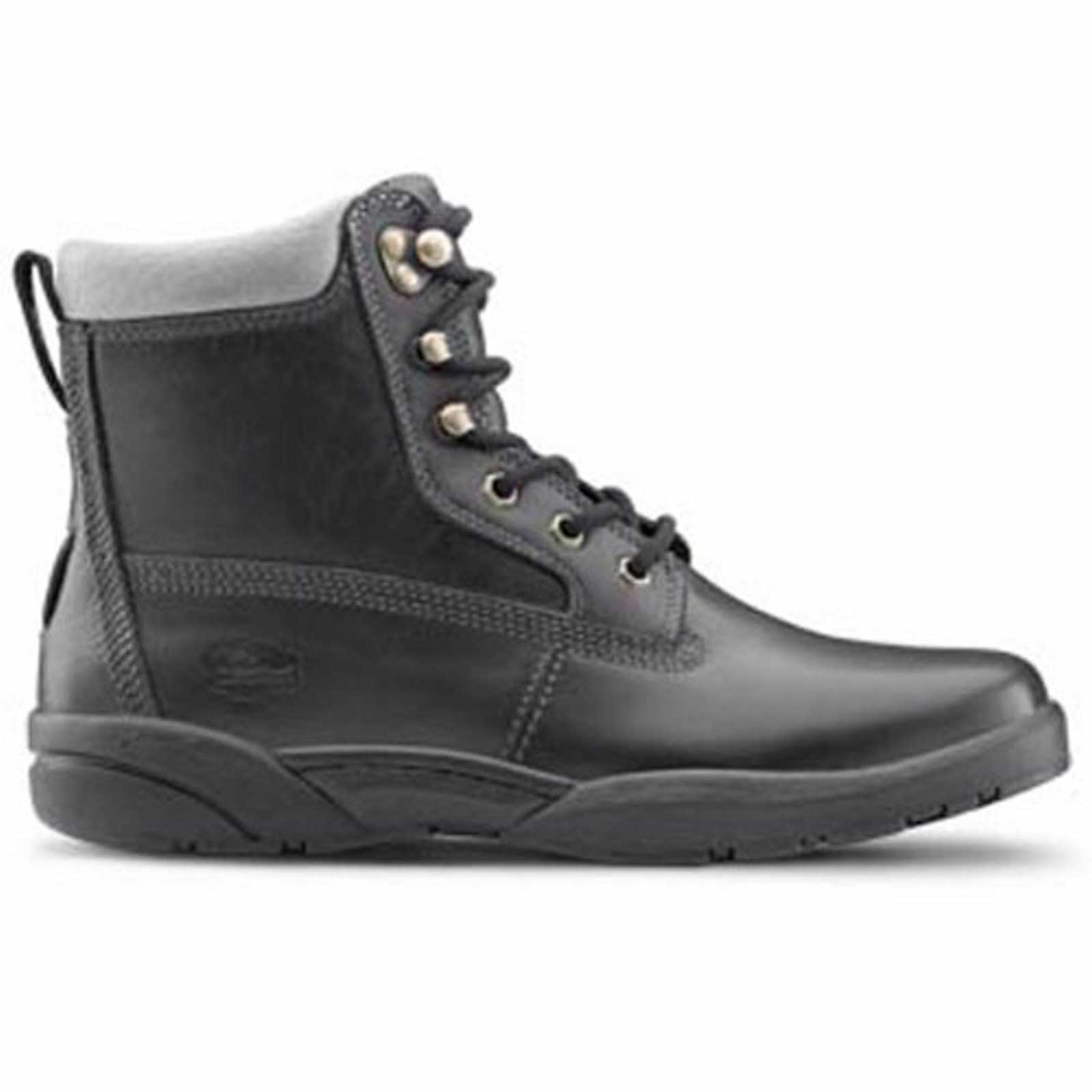 Comfort Boss Mens Therapeutic Diabetic Extra Depth Boot: Black -8.5 Wide Lace Dr E//2E