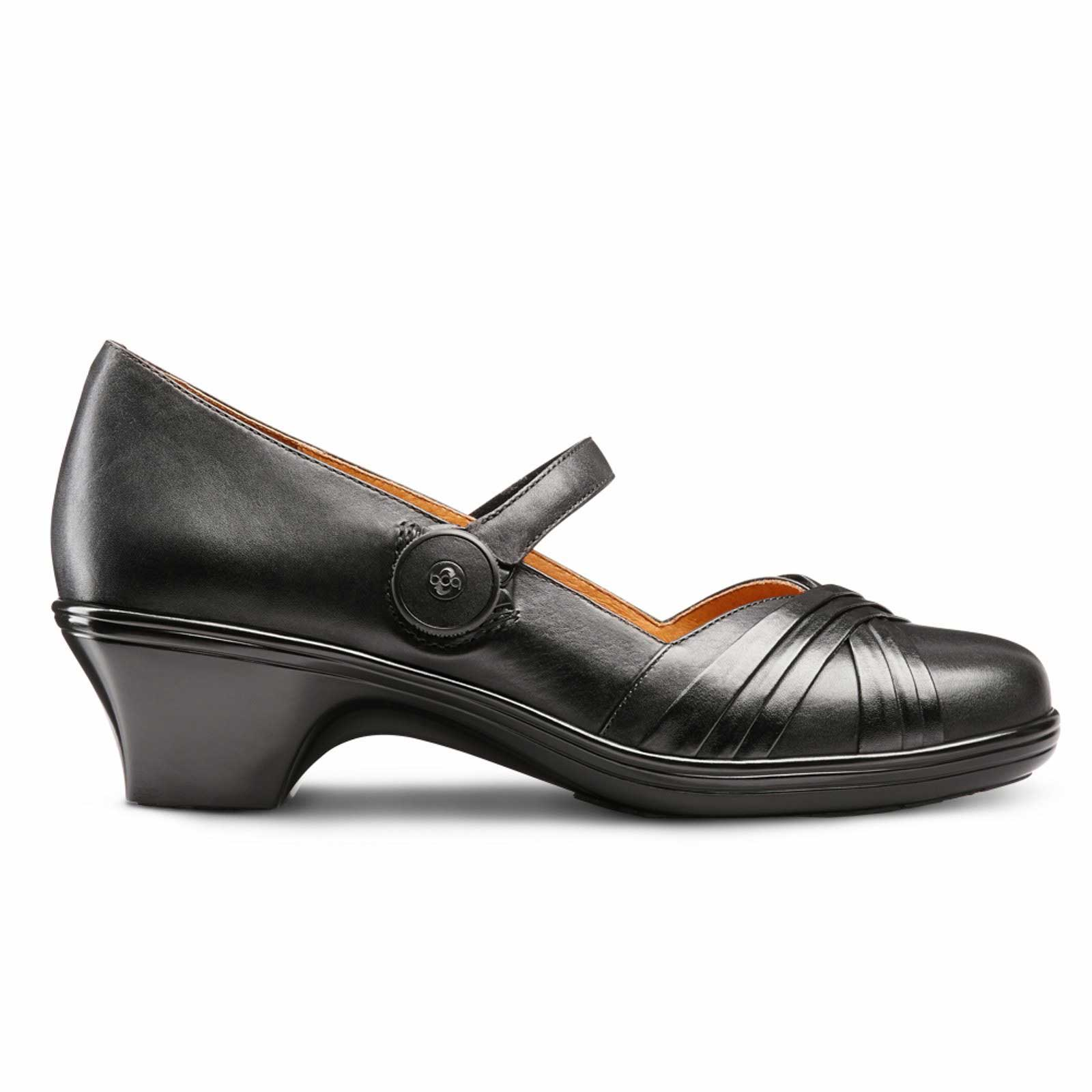 leather and classic comforter ladies womens comfort plus heels soft margo elegant wedges shoes