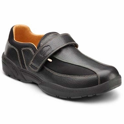 The Dr. Comfort Douglas - Black - Casual