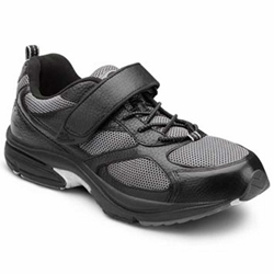 The Dr. Comfort - Endurance - Black - Casual, Athletic