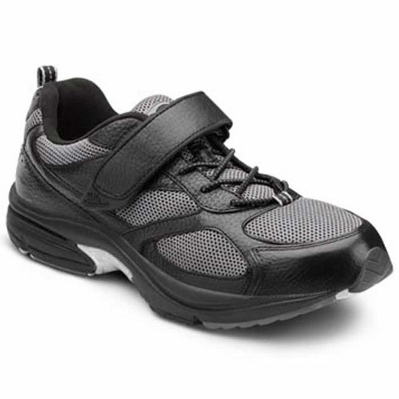 Dr. Comfort Shoes Endurance - Men's Comfort Therapeutic Diabetic Shoe with Gel Plus Inserts - Athletic - Medium (B) - Extra Wide (4E) - Extra Depth for Orthotics