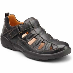 Dr. Comfort - Fisherman - Black - Sandal, Casual