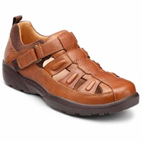 Dr. Comfort - Fisherman - Chestnut -  Sandal, Casual
