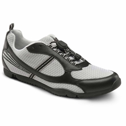 The Dr. Comfort Gary - Black - Flex-OA - Casual for Knee Pain