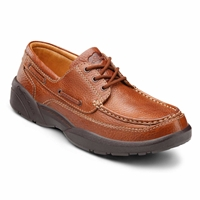 The Dr. Comfort Patrick - Chestnut - Casual and Boat Shoe