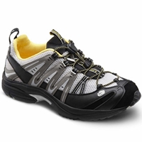 Dr. Comfort - Performance - Black/Yellow - Cross Trainer Athletic Shoe