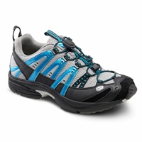 Dr. Comfort - Performance - Metallic Blue - Cross Trainer Athletic Shoe