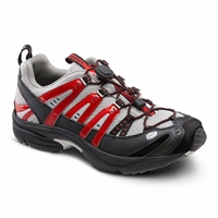 Dr. Comfort - Performance - Metallic Red - Cross Trainer Athletic Shoe