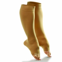 Dr. Comfort - Support & Compression - Sheer Open Toe Hosiery for Women