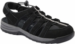 Drew Shoes Element 17031 - Women's Casual Comfort Therapeutic Diabetic Sandal - Extra Depth for Orthotics
