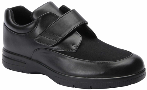 Drew Shoes - Quest - Black Leather - Casual, Dress