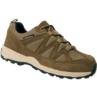 Drew Shoes - Trail - Olive Suede - Leather Mesh - Athletic Shoe