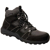 Drew Shoes - Trek - Black Nubuck & Mesh - Boot & Athletic Shoe
