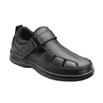 Orthofeet Shoes Melbourne 571 - Men's Comfort Therapeutic Diabetic Shoe - Sandal Shoe - Medium - Extra Wide - Extra Depth for Orthotics