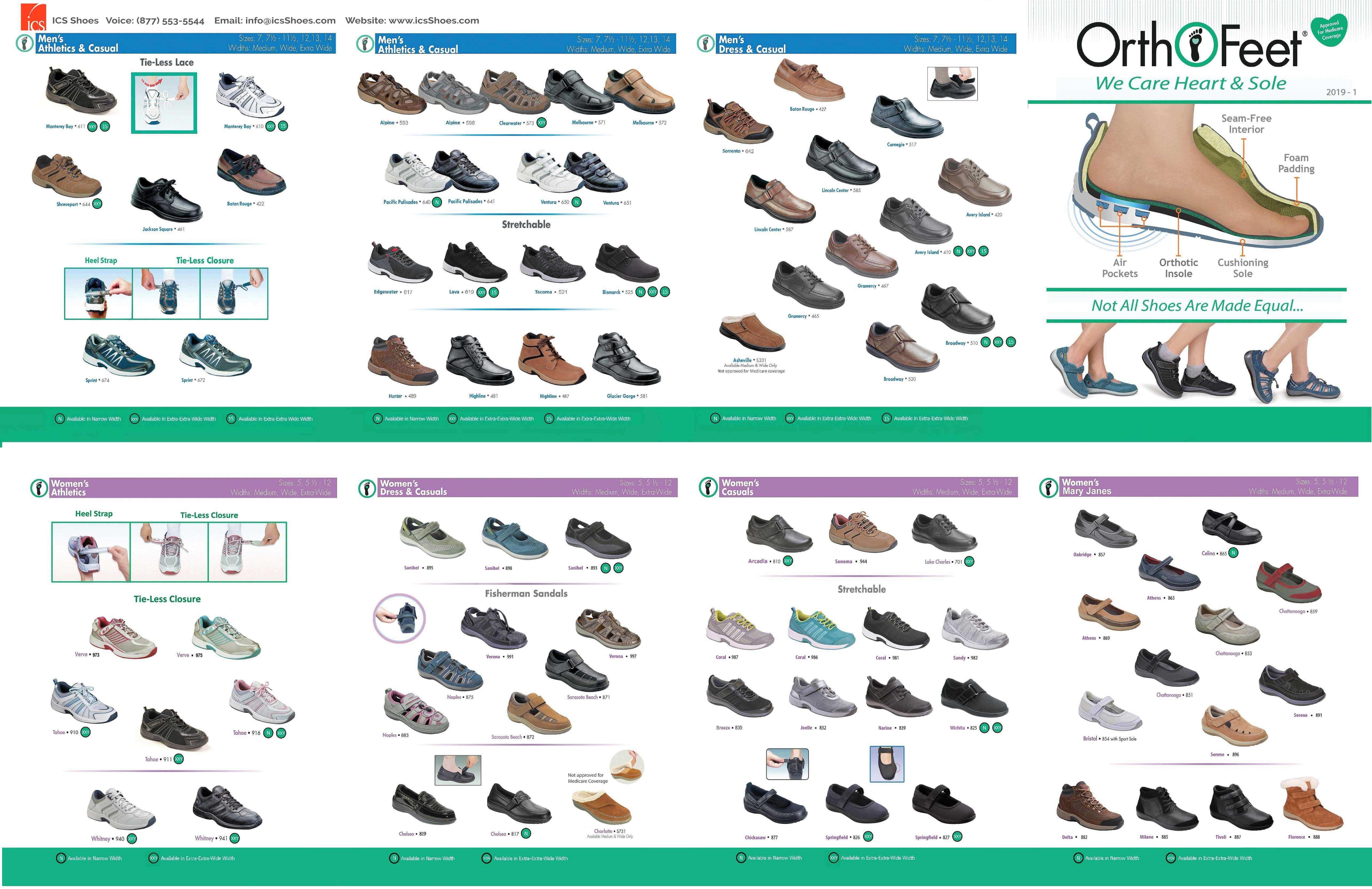 7a9b2a0de8600 Orthofeet Shoes